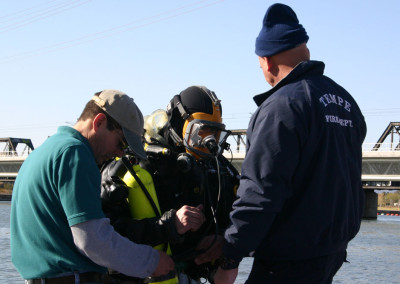 TFD Readies for Dive