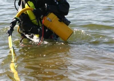 TFD Diver Enters