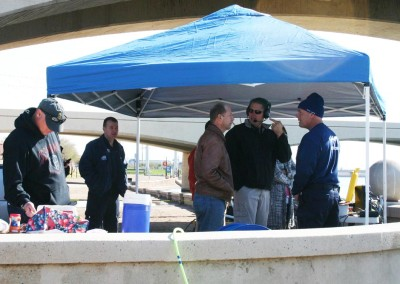 Command Tent & Observers