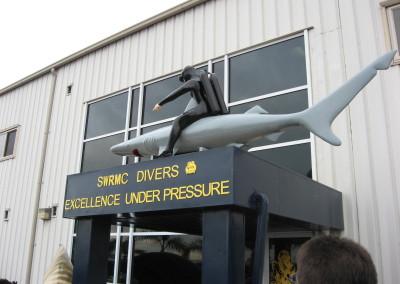 Navy's Ship Maintenance Center in San Diego