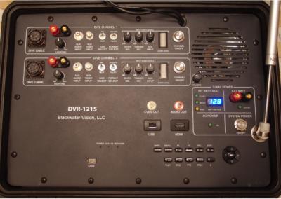 DVR-1215 Control Panel